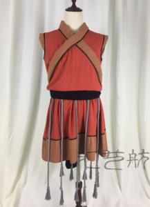 中央民族大学荷花杯剧目《布衣者》藏族群舞演出服装民族舞蹈服装