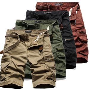 大码男装工装六分短裤多袋多兜多口袋休闲清货断码户外军旅七分裤