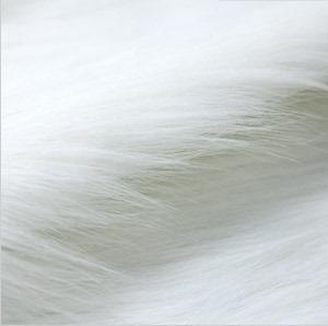 包邮纯白色 长毛毛绒布布料 手机柜台装饰 格子铺展示 背景绒毛布