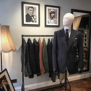 羊毛西装定制男士套装高级量身私人定做结婚新郎西服正装商务礼服