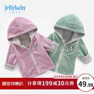 秋冬女寶寶衣服1-2歲嬰兒秋裝上衣兒童小童外衣春秋3女童加絨外套