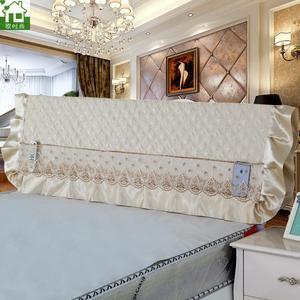布艺床头软包图片