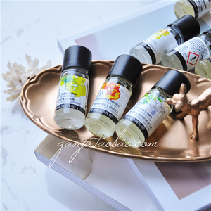 英国THE BODY SHOP白麝香薰衣草柠檬绿茶室内香熏香薰精油10ML