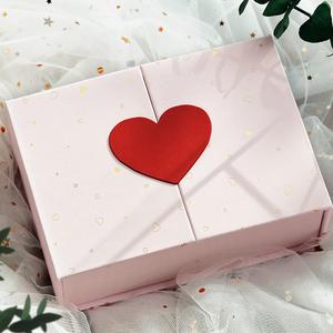 禮品包裝盒生日禮盒空盒子大號ins風網紅少女心情人節口紅禮物盒
