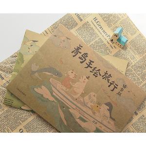 【猫空官网】原创青岛手绘旅行地图青岛旅游攻略玩转青岛吃喝玩乐
