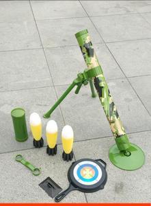 发光rpg火箭炮模型发射榴弹炮轰炸手动小钢炮绝地核导弹武器男用
