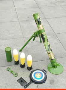 发光小钢炮核导弹rpg火箭炮模型液晶军事拼装手动玩具榴弹炮武器