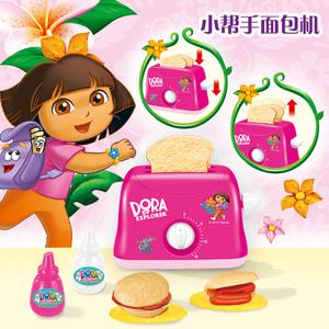 爱冒险的朵拉宝宝过家家玩具仿真厨房餐具儿童煮饭2-3-4-5岁女孩