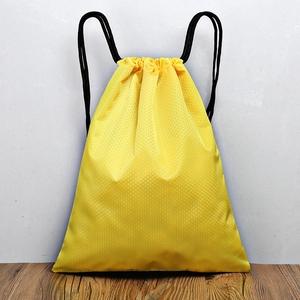 定制LOGO印字防水束口袋男女抽绳双肩包轻便简易旅行小背包收纳袋