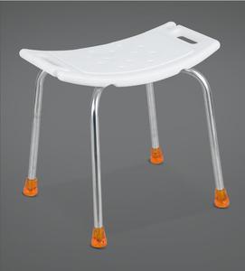老人洗澡椅子防滑老年残疾人折叠带靠背不锈钢沐浴凳孕妇