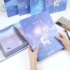 新品上架的同學錄韓版可愛紀念冊初中生小學生畢業女小清新韓國創
