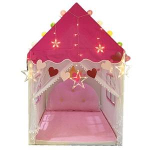 新款纯棉纺布房屋款超大儿童室内游戏屋帐篷宝宝玩具礼物分床城堡