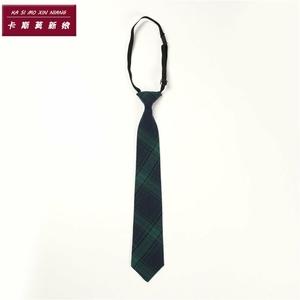 男士墨綠色方便春秋款學生款襯衣長袖復古配飾女式學院風襯衫領帶