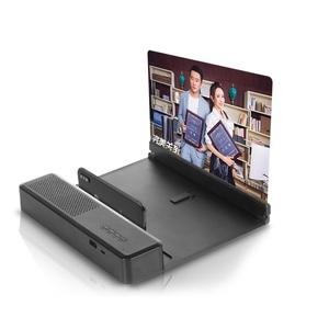 遠程控制藍牙音箱放大鏡手機屏幕放大器高清大屏超清藍光6D通用護眼寶看追劇電影視頻懶人桌面支架座