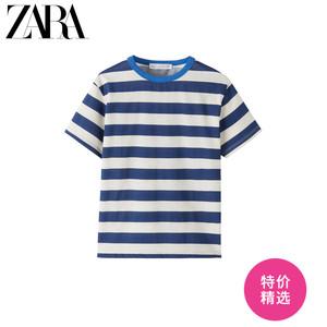 ZARA 新款 童裝男童 春夏新品  條紋 T 恤 05643760400