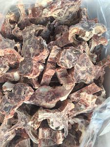 低价批发冷冻羊蝎子火锅食材 新鲜羊脖骨 带肉多羊骨头 40斤 包邮