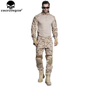 爱默生G2 AOR1沙漠数码迷彩青蛙套服野战户外装备伪装透气军训服