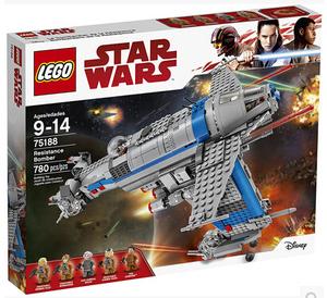 2017款乐高LEGO 星球大战系列StarWars 抵抗组织轰炸机75188