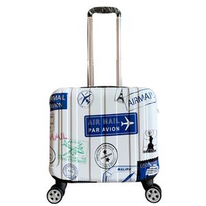 定制商務登機箱14寸迷你行李箱男女士小型密碼箱子16寸拉杆18手提