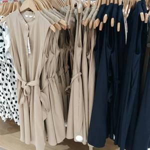女装 优质长绒棉A字型连衣裙(无袖) 417907 优衣库专柜正品