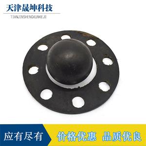 可加工定做橡胶球橡胶垫减震垫?#26032;?#19997;孔耐油橡胶法兰缓冲垫片垫圈