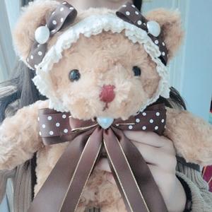 【原创萌妹】洛丽塔熊包现货lolita斜挎双肩背包少女可爱软妹玩偶