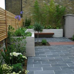 室外防滑天然青石板庭院地砖户外院子阳台花园石材广场砖耐磨防冻