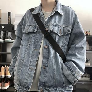 牛仔外套女春秋韩版ins工装上衣宽松bf风百搭休闲短款长袖夹克潮