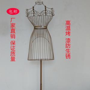 特价包邮 铁艺女模特架子服装店拍摄道具橱窗装饰 婚纱挂衣展示架