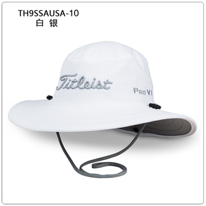 高尔夫帽子 Titleist TH9SSAUSA 男士高尔夫球帽 大檐帽 防晒新款
