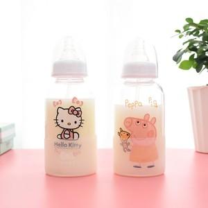粉色便携超萌隔热饮料吸管杯奶瓶成人可爱学生韩国少女塑料女学生