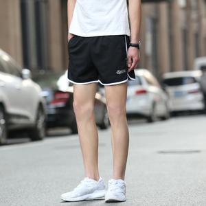 夏季运动短裤男潮健身宽松大裤衩薄速干跑步沙?#21442;?分3三分超短裤