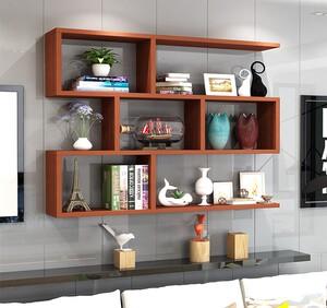 书架简易墙上免打孔