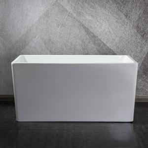 小户型迷你加深正方形浴盆池普通坐凳日式泡澡亚克力无缝对接浴缸