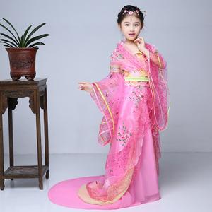 古代服装七仙女儿童