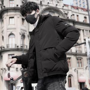 男士冬季外套2019新款棉衣韓版潮流學生男裝衣服羽絨棉襖短款棉服