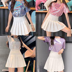 啦啦隊服裝女套裝成人爵士嘻哈街舞演出服韓國女團跳舞表演舞臺裝