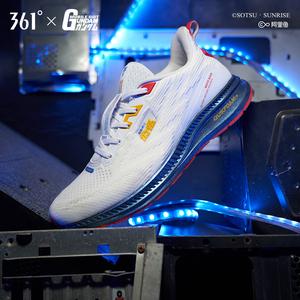 【高达联名】361男鞋运动鞋2019新款秋季网面透气减震Q弹跑步鞋