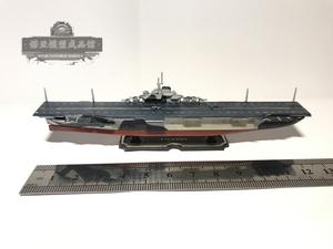 美国航母模型成品