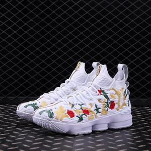 詹姆斯16low15代king鴛鴦籃球鞋聯名湖人紫花卉歐文5代運動鞋男鞋