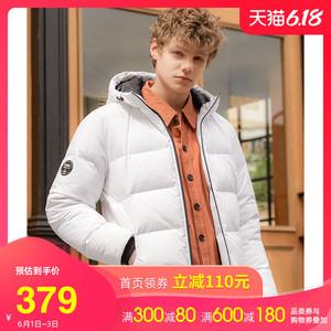 駱駝男裝2019冬季新款羽絨服男加厚大碼潮牌韓版情侶版保暖外套男