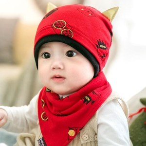 秋冬6-12个月婴儿帽子5春秋1岁小孩3男孩2宝宝7薄款0秋季8潮9男童