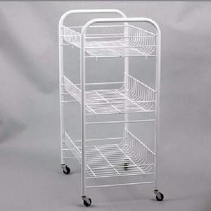 蔬菜架水果菜篮厨房置物架移动收纳架分层架落地整理储物架小推车