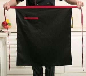 围兜耐磨围腰围群烧烤饭店棉布牛排店短款时尚围裙家用厨房下半身