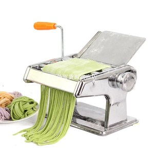 Manul Noodle Press Stainless Steel Dough Pressing Machine No