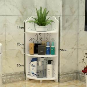 厕所农村置地式浴?#20918;?#26588;卫生间储物收纳柜创意杂物架毛巾洗衣机旁