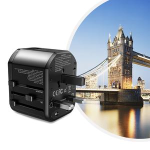 【自营】ROCK全球旅行充电器多功能转换插头万能插座通用PD快充头