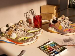 欧洲代 倪妮宋祖儿同款 19FW Gucci古琦Ultrapace 时尚运动鞋