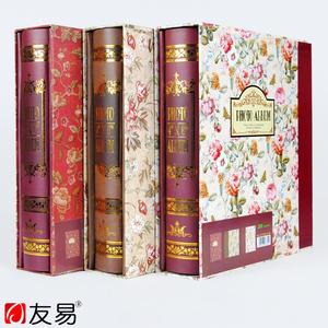 8寸相册韩版简约插页式100张影集家庭儿童盒装宝宝6寸200张