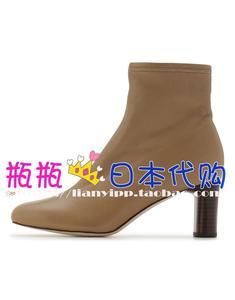 9折 日本代购FRAY I.D 8月弹力短靴lz FWGS194321
